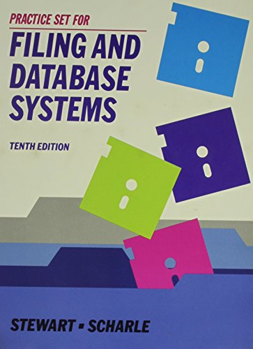 9780070614826: Filing and Database Systems, Practice Set