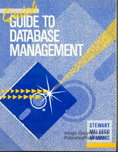 9780070615045: Quick Guide to Database Management