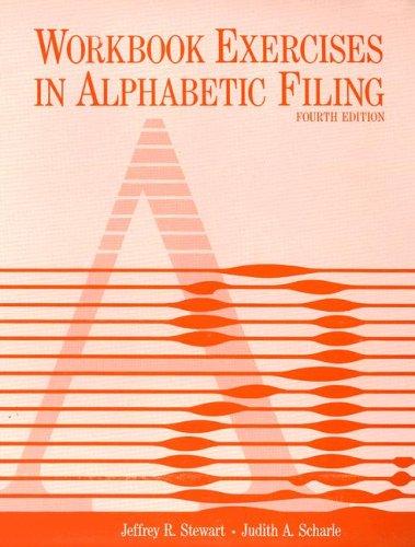 9780070615113: Workbook Exercises in Alphabetic Filing Text-Workbook