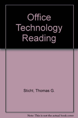 9780070615144: Office Technology Reading