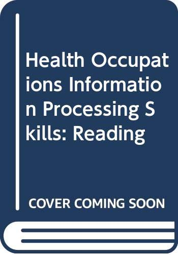 9780070615229: Health Occupations Information Processing Skills: Reading
