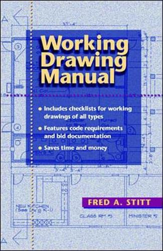 9780070615540: Working Drawing Manual
