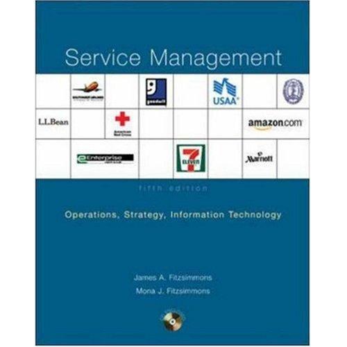 9780070615663: Service Management