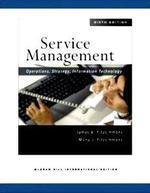 9780070615663: Service Management: Operations, Strategy, Information Technology with Student Cd By James a Fitzsimm