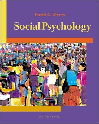 Social Psychology: David G. Myers