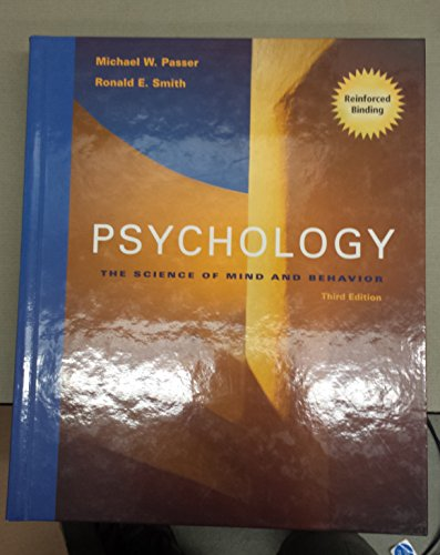 9780070615724: Psychology: The Science of Mind and Behavior, 3rd Edition