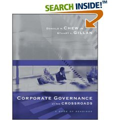 9780070615861: Corporate Governance At The Crossroads