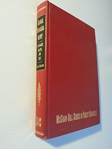 Range Management (McGraw-Hill series in forest resources): Stoddart, Laurence Alexander