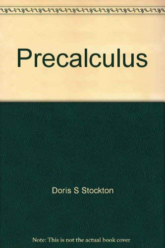 9780070615991: Precalculus (College Custom Series)
