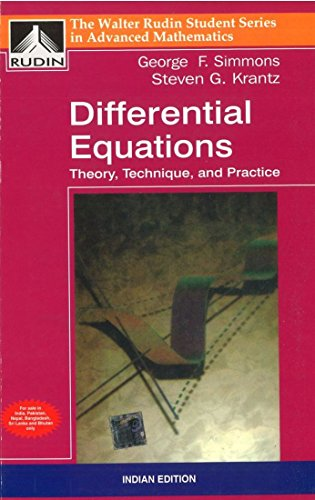 9780070616097: Differential Equations