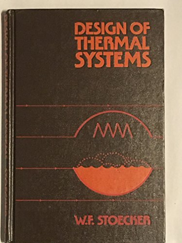 9780070616189: Design of Thermal Systems