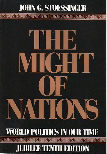 9780070616257: The Might of Nations