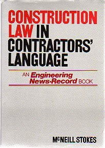 9780070616356: Construction Law in Contractors' Language