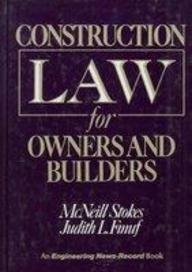 9780070616479: Construction Law for Owners and Builders