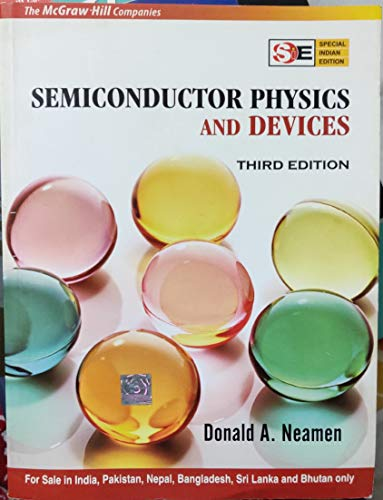 9780070617124: Semiconductor Physics and Devices