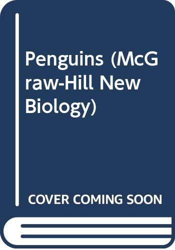 9780070617407: Penguins (Mcgraw-Hill New Biology)