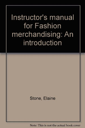 9780070617438: Instructor's manual for Fashion merchandising: An introduction