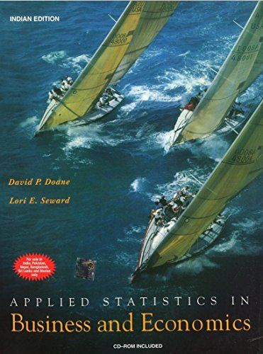 9780070618411: Applied Statistics in Business And Economics