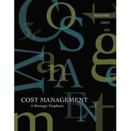 9780070618473: Cost Management: A Strategic Emphasis, 3rd Economy Edition