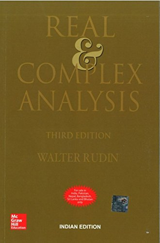 9780070619876: Real & Complex Analysis