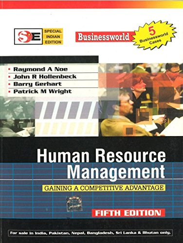 9780070620100: Human Resource Management