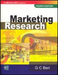 9780070620223: Marketing Research 4E