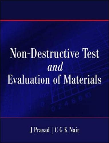 9780070620841: Non- Destructive Test And Evaluation of Materials