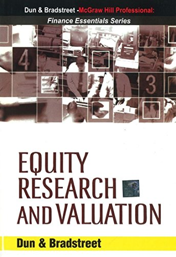 9780070620940: Equity Research and Valuation