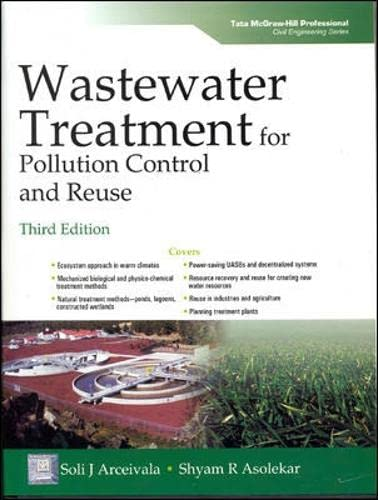 9780070620995: Wastewater Treatment for Pollution Control and Reuse