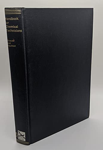 9780070621640: Handbook for Chemical Technicians