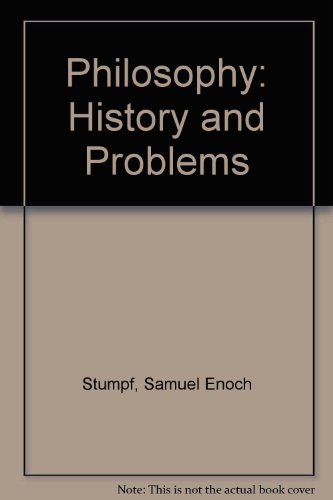 9780070621817: Philosophy: History & problems