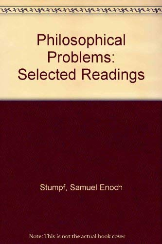 9780070621831: Philosophical Problems: Selected Readings