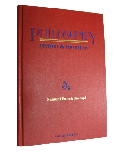 9780070621879: Philosophy: History and Problems