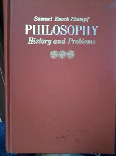9780070621978: Philosophy: history and problems