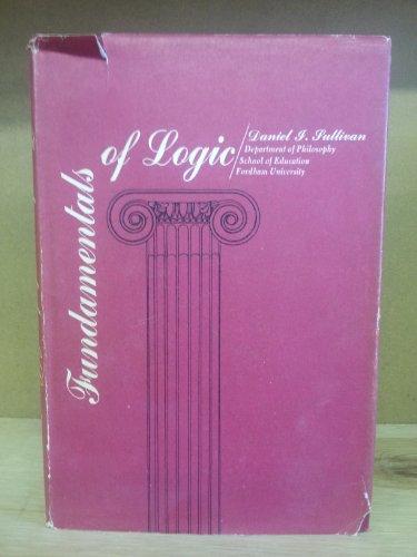 9780070623286: Fundamentals of Logic