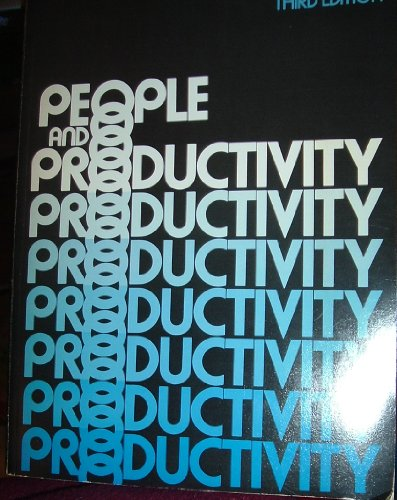9780070623712: People and Productivity (McGraw-Hill Series in Management)