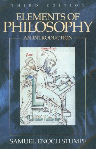 9780070624689: Elements of Philosophy: An Introduction