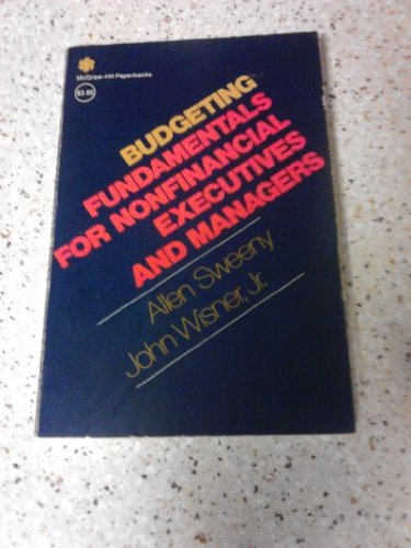 9780070625846: Budgeting Fundamentals for Nonfinancial Executives and Managers (McGraw-Hill paperbacks)