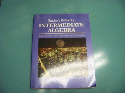9780070626164: Teacher's edition for Intermediate algebra: Form B