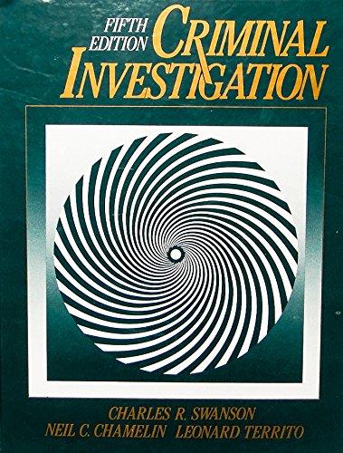 9780070626188: Criminal Investigation