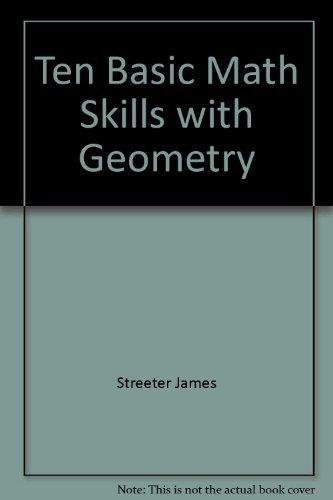 9780070626294: Ten Basic Math Skills with Geometry