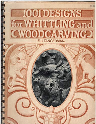 9780070626485: 1001 designs for whittling and woodcarving