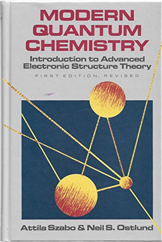 9780070627390: Modern Quantum Chemistry: Introduction to Advanced Electronic Structure Theory