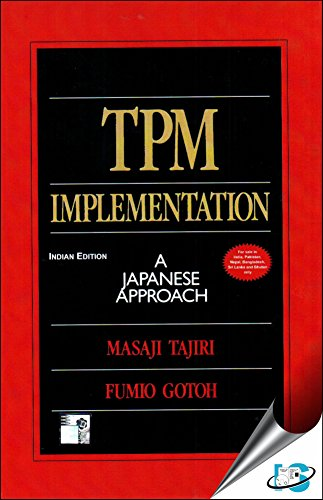 9780070628342: TPM Implementation: A Japanese Approach