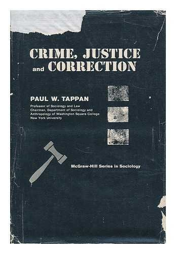 9780070628700: Crime, Justice and Correction
