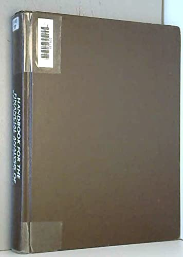 Handbook for the Financial Analysis of Real: Tappan, William T.