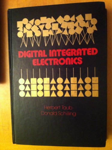9780070629219: Digital Integrated Electronics (Electrical & Electronic Engineering)
