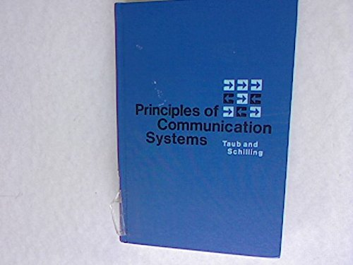 9780070629233: Principles of Communication Systems (McGraw-Hill electrical and electronic engineering series)