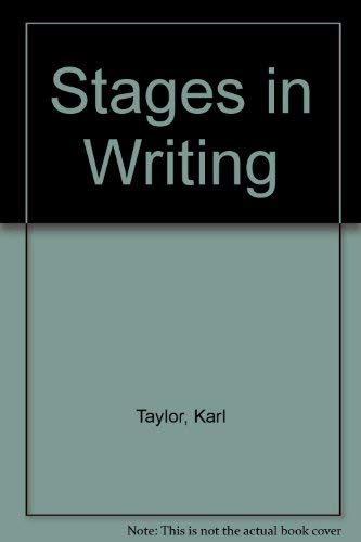 9780070629950: Stages in Writing