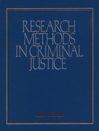 9780070630017: Research Methods in Criminal Justice: Exploring Alternate Pathways
